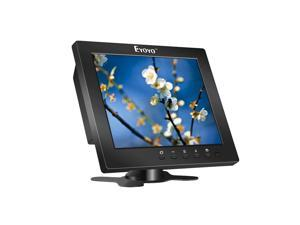 Hopezone Eyoyo S801C 8 Inch TFT LCD Color Video Monitor Screen 1204x768 VGA BNC AV HDMI Ypbpr Input for PC CCTV Home Security