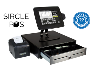 Tablet Point of Sale System Featuring Sircle POS for Restaurant - Cloud Based