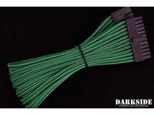 "Darkside 24-Pin ATX 12"" (30cm) HSL Single Braid Extension Cable - Commando UV (DS-0703)"