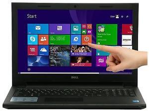 "Dell Inspiron 15 3000 15-3541 15.6"" Touchscreen Notebook - AMD A-Series A6-6310 Quad-core (4 Core) 1.80 GHz - Black"