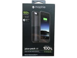 OEM mophie juice pack air Battery Pack Case for iPhone 6/6s - Black