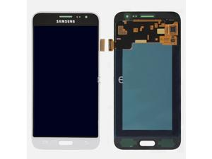 WHITE-LCD Display Screen Digitizer Replacement Parts For Samsung Galaxy J3 2016