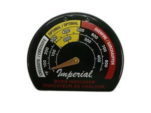 Imperial  BMO135 Magnetic Wood Stove Pipe Thermometer