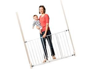 Easy Open Extra Wide Metal Walk Through Safety Gate For Toddlers