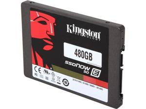 "Kingston SSDNow E50 SE50S37/480G 2.5"" 480GB SATA 6Gb/s MLC Enterprise Solid State Drive - Bulk Packing"