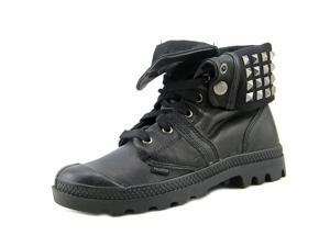 Palladium Baggy Cash Stud Women US 5.5 Black Ankle Boot