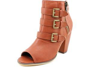 Michael Antonio Maklar Women US 8.5 Brown Peep Toe Ankle Boot