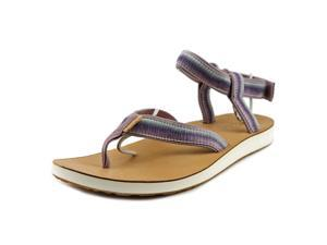 Teva Original Sandal Ombre Women US 8 Purple Thong Sandal