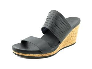 Teva Arrabelle Women US 6 Black Wedge Sandal