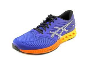 Asics 2016 Men's fuzeX Running Shoes - T639N.4350 (ASICS Blue/Indigo Blue/Hot Orange - 10.5)