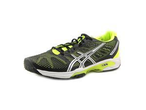 Asics Gel-Solution Speed 2 Clay Men US 12.5 Black Running Shoe