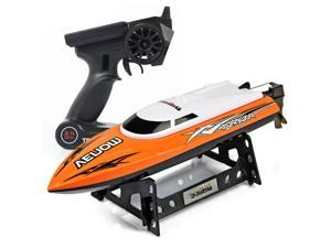 Udirc 2.4GHz High Speed Remote Control RC Electric Boat Orange