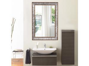 "36"" Wall Mirror Beveled Rectangle Vanity Bathroom Furniture Decor W/ Wide Edge"