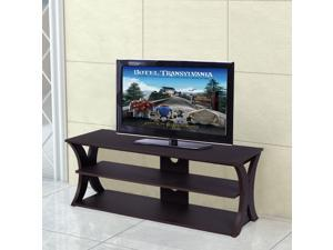 3-Tier TV Stand Entertainment Center Media Console Furniture Storage Cabinet