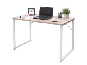 Wood Computer Desk PC Laptop Table Large Writing Study Workstation Home  Office
