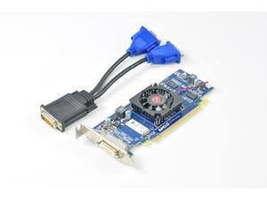 Dell 1CX3M HFKYC AMD ATI Radeon HD6350 512MB PCI-E x16 DMS-59 Video Graphics Card w/ Dual VGA Adapter