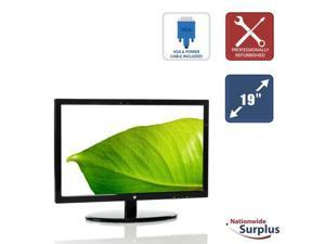 "V7 LED185W2R 19"" 1366x768 16:9 Widescreen LED Backlit LCD Monitor VGA DVI Grade B"