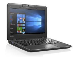 "Lenovo ThinkPad N22 (80S60015US) Intel Celeron N3050 1.6 GHz Dual-Core, 4 GB RAM, 32 GB eMMC, Webcam, Bluetooth 4.0, 11.6"" Screen, Windows 10"