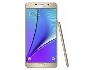 Samsung Note 5 N920V 32GB Verizon Unlocked 4G LTE Octa-Core Phone w/ 16 MP Camera - Gold
