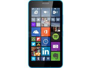 Microsoft Lumia 640 XL Unlocked GSM Quad-Core WIndows Phone w/ 13MP Camera - Blue