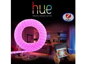 Zigbee  RGBW LED Light Strip with Philips Hue,  Smart Home Phone APP Control