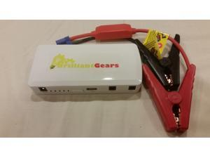 BrilliantGears Power Jumper, 12000 mAh, Car Jump Starter, Portable Power Bank, Portable Device and laptop battery charger