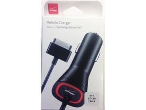 Verizon Vehicle Car Power Charger For Samsung Galaxy Tab SGH-i987 / SCH-i800 / SPH-P100 SGH-T849 / 7.0 Plus / 7.7 / 8.9 GT-P7310 / Note 10.1 / i905 / 10.1 GT-P7510 / Tab 2 10.1