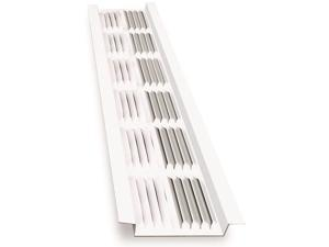 LL BUILDING PRODUCTS LSV8W WHT LOUV SOFFIT VENT8FT