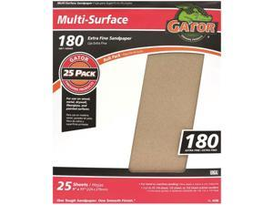 Gator 3261 Multi-Purpose Sanding Sheet, 11 in x 9 in, 180 Grit
