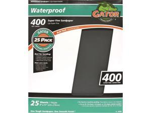 Gator 3281 Waterproof Sanding Sheet, 11 in x 9 in, 400 Grit