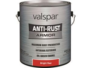 Valspar 21827/21927 Rust Preventive Enamel Paint, 1 gal, Safety Red?