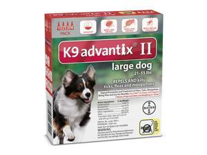 K9 Advantix II for Dogs Large Red 4 Months