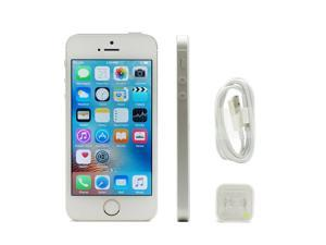 Grade A Mint Apple iPhone 5S 64GB GSM Factory Unlocked Silver Clean ESN