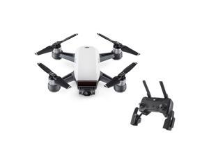 DJI Spark Quadcopter Mini Drone Starter Bundle, Remote control included, Alpine White