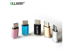OLLIVAN Micro USB Cable Adapter USB 3.1 Type C Male To Micro USB Convertor OTG Type C USB Adapter Mini Fast Charging Data Sync