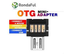 Mini Micro Usb Otg Cable To USB OTG Adapter For Samsung HTC Xiaomi Huawei MEIZU Sony LG Android OTG Card Reader Usb OTG adapter