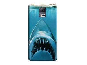 Cell Phone Carrying Shells Anti-scratch water concept funny sharks swimming jaws Covers High Quality Phone Case Samsung Galaxy S5
