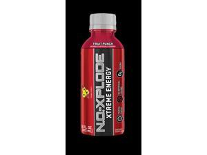 BSN NO-Xplode RTD Fruit Punch 12 ct 16 oz