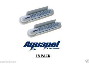 AQUAPEL Applicators (18) Windshield Glass Treatment Water Rain Repellent