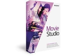 Sony Media Software MSMS13000 Sony Movie Studio 13 - Win Vista,Win 7,Win 8