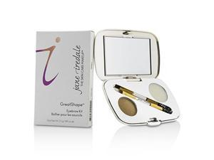 Jane Iredale 209890 GreatShape Eyebrow Kit, 1x Brow Powder, 1x Brow Wax, 1x Applicator - Blonde