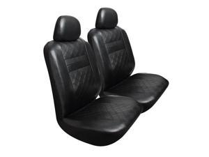 Pilot Automotive SC-449E Diamond Pattern Seat Cover - Black