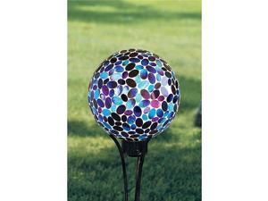 Carson 65758 10 Mosaic Shimmering Berry Gazing Ball