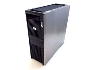 HP Z600 Workstation Intel Xeon Nvidia Quadro NVS 295 6GB 500GB Windows 7 Pro