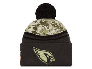 New Era NFL 2016-17 Salute to Services Digital Camo Knit Beanie Hat - Arizona Cardinals