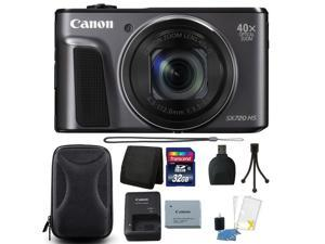 Canon PowerShot SX720 HS 20.3MP Digital Camera with 32GB Top Accessory Bundle