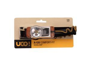 UCO A120 Headlamp, Black & Tan SKU: HL-A120-BLACKTAN with Elite Tactical Cloth