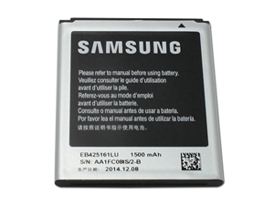 Original Samsung Battery 1500mah EB425161LA EB425161LU for Samsung phones Galaxy S3 SIII Mini i8190 Exhibit T599 S Duos S7562 Galaxy Ace 2