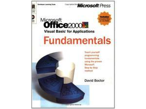 Office 2000 Visual Basic Fundamentals Step-by-step (Developer Learning Tools)