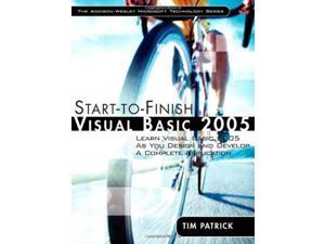 Start-to-finish Visual Basic 2005: Learn Visual Basic 2005 as You Design and Develop a Complete Application (Addison-Wesley Microsoft Technology)